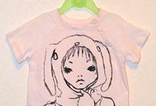 大人の服を子供用Tシャツにリメイクした話