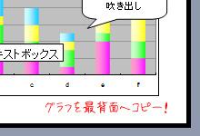 [ExcelVBA]PowerPointの指定したスライドへExcelグラフを最背面で貼り付ける