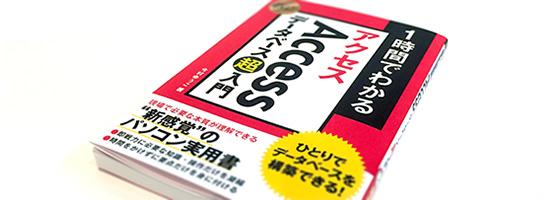 Accessデータベース「超」入門の本